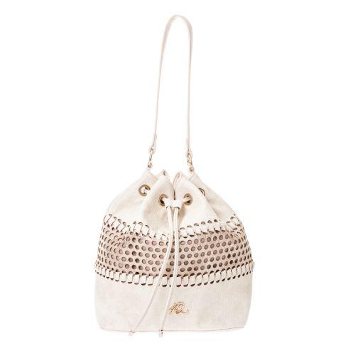 dcc9d969bac Τσάντα πουγκί από δερματίνη με διάτρητο σχέδιο - 4Queens.gr