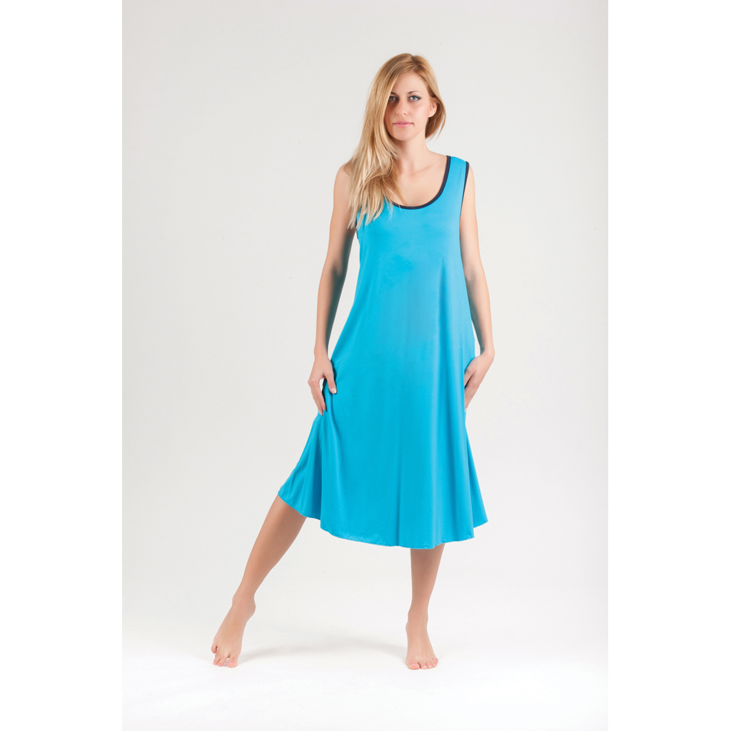 Φόρεμα μακό μονόχρωμο μακρύ S-M-L-XL-2XL - 4Queens.gr 168505e6a1f